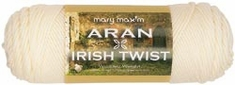 Mary Maxim Aran Irish Twist Yarn - Click to enlarge