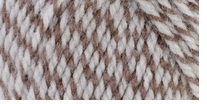 Mary Maxim Starlette Ragg Yarn Brown