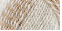 Mary Maxim Sugar Baby Stripes Yarn Mocha Crunch