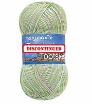 Mary Maxim Tropical Tootsies Yarn  - DISCONTINUED
