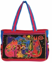 Medium Tote Zipper Top Kindred Creatures