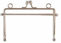 Metal Purse Frame Silver