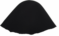 Millinery Base Wool Hoods Black