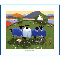 Mini Card Hope Ewe Get Well Soon