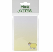 Mini Jotter Note Pad Ewe Are My Sunshine