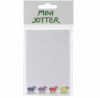 Mini Jotter Note Pad Four Ewes