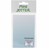 Mini Jotter Note Pad Friendsheep