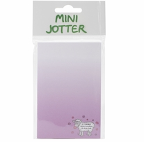 Mini Jotter Note Pad If Friends Were Flowers