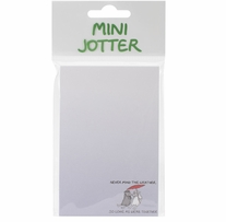 Mini Jotter Note Pad Never Mind The Weather