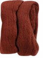 Natural Wool Roving Rust