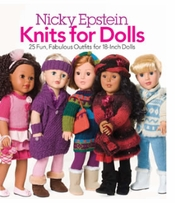 Nicky Epstein Books Knits For Dolls Nicky Epstein
