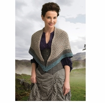 Outlander Yarn Kit Lavish Mackenzie Clan Shawl