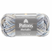 Patons Metallic Variegated Yarn