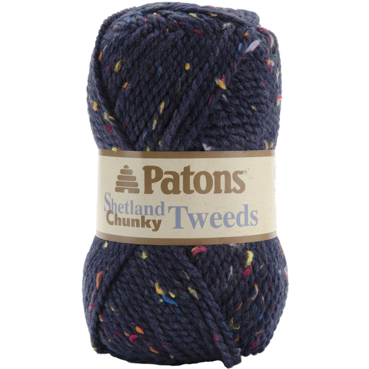 Chunky Yarn : ... Softness Meter - Rating 6 ? Patons Shetland Chunky Tweeds Yarn