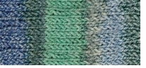 Patons Stretch Socks Yarn Spearmint Jacquard