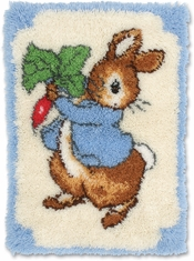 Peter Rabbit Rug Latch Hook Kit - Click to enlarge