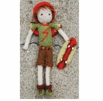 Pick Up Sticks! Knit Felting Patterns Boy Tooth Fairy