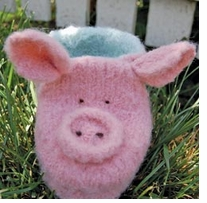 Pick Up Sticks! Knit Felting Patterns Pig Boot