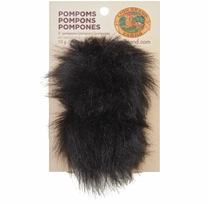 Pompoms Black Cat 2/Pkg