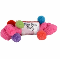 Premier Pom Pom Party Yarn Fruit Punch