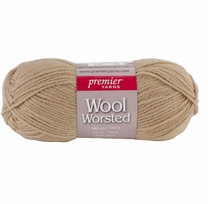 Premier Wool Worsted Yarn Camel