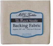 Punch Needle Backing Fabric 30inX36in