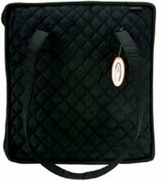 Quilted Cotton Supreme Organizer 27.5inX12.7inX2.7in Black