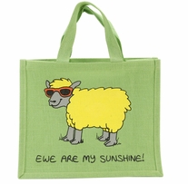 Re-Usable Shopping Bag Ewe Are My Sunshine