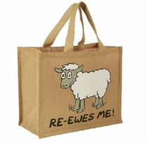 Re-Usable Shopping Bag Ewes Me
