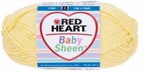 Red Heart Yarn Baby Sheen Yarn