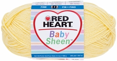 Red Heart Baby Sheen Yarn - Click to enlarge