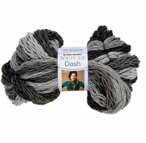 Red Heart Boutique Dash Yarn Graphite