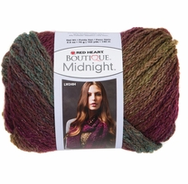 Red Heart Boutique Midnight Yarn Brocade