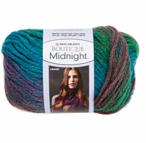 Red Heart Boutique Midnight Yarn Tropical