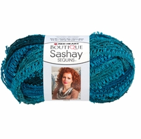 Boutique Sashay Sequins Yarn by Red Heart