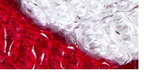 Red Heart Boutique Sashay Team Spirit Yarn Red, White