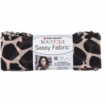 Red Heart� Boutique Sassy Fabric� Yarn Giraffe