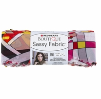 Red Heart Boutique Sassy Fabric Yarn Graphic