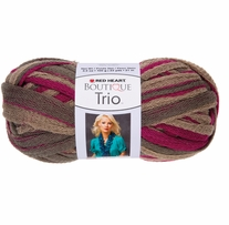 Red Heart Boutique Trio Yarn Cactus