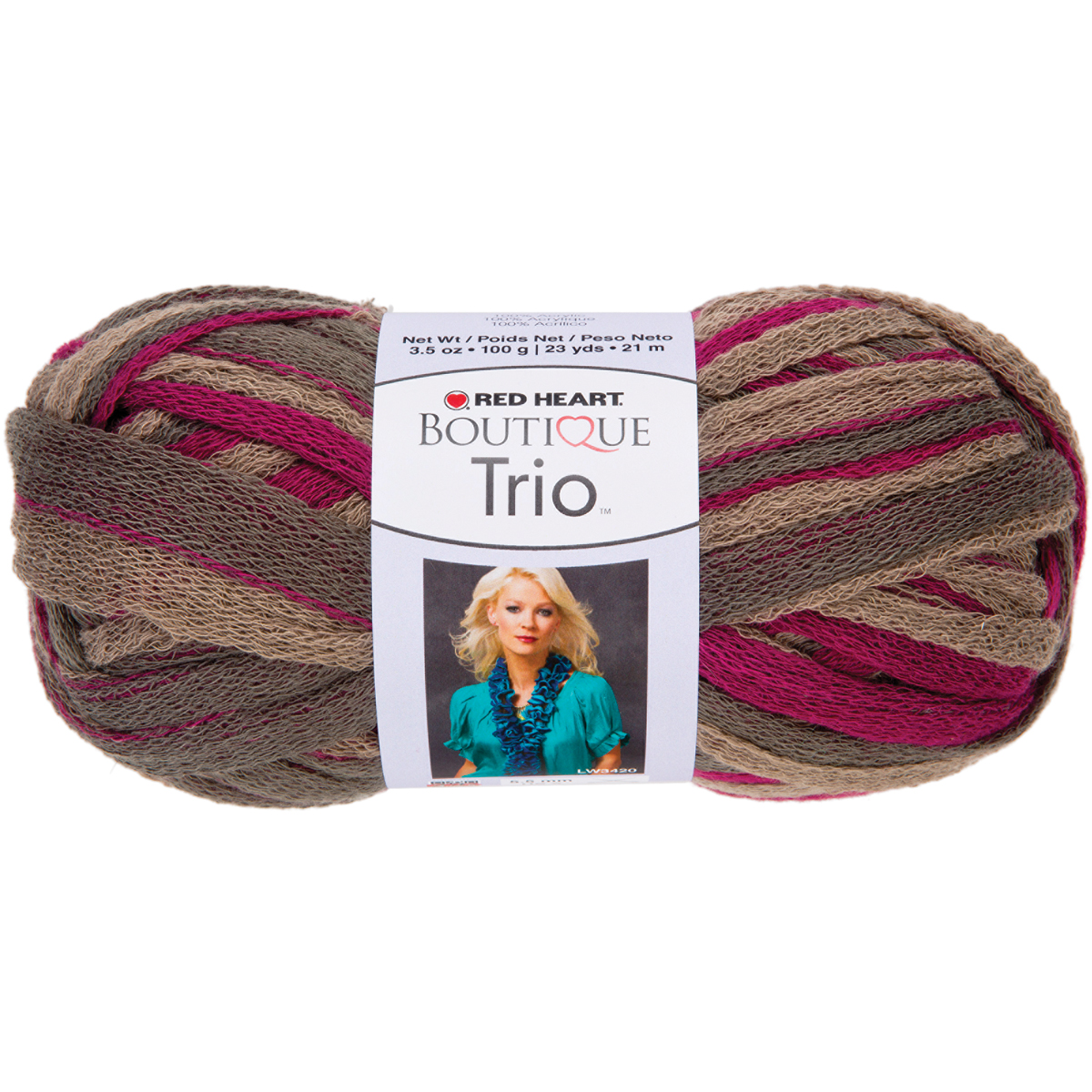 ... Red Heart Boutique Trio Yarn ? Red Heart Boutique Trio Yarn Cactus