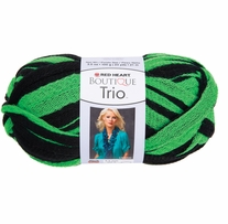 Red Heart Boutique Trio Yarn Go Green