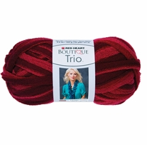 Red Heart Boutique Trio Yarn Pomegranate