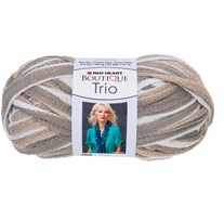 Red Heart Boutique Trio Yarn Shale