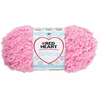 Red Heart Buttercup Yarn Ballet Slipper