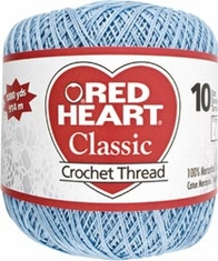 Red Heart Classic Crochet Thread - Click to enlarge