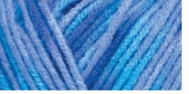 Red Heart Comfort Yarn Turquoise, Blue Prints
