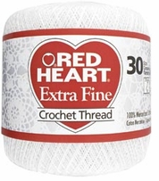 Red Heart Extra Fine Crochet Thread