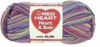 Red Heart Heart & Sole With Aloe Yarn