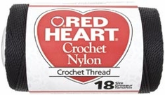 Red Heart Nylon Crochet Thread - Click to enlarge
