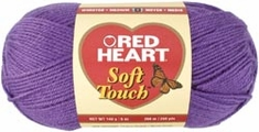 Red Heart Soft Touch Yarn - Click to enlarge